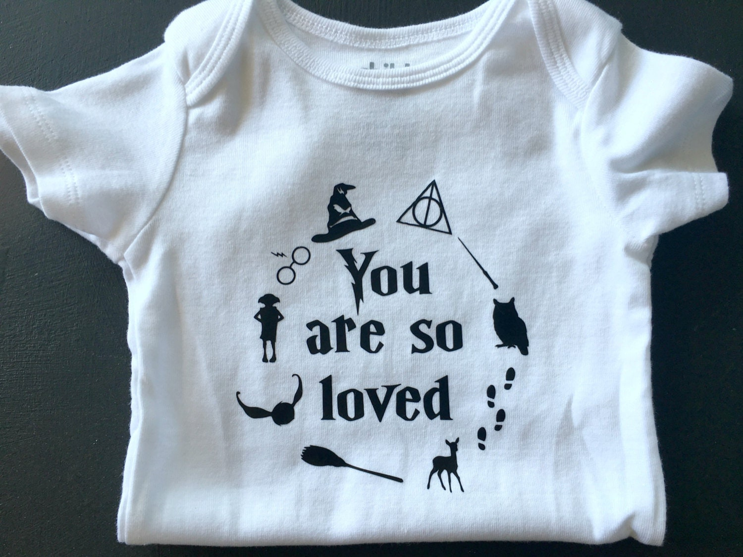 Baby Onesie You Are So Loved Harry Potter Baby Boy or by ...
