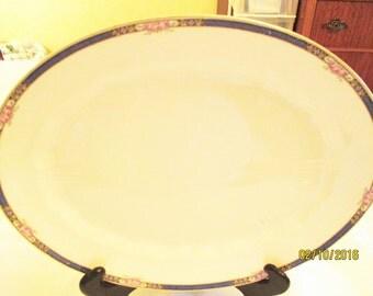Stubenville Ivory Platter #STB150 Vintage Steubenville Platter