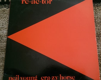 Neil Young - Reactor - HS 2304 - 1981