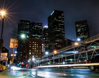 Rainy Downtown LA