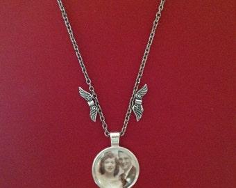 Remembrance necklace, keepsake necklace