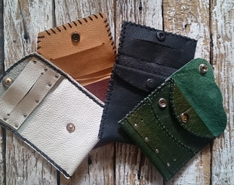 Handmade Leather Tobacco Pouches