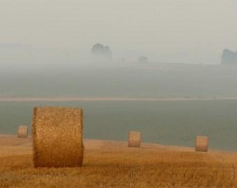 Fields - Straw - Hay - Hay Photo - Field Photo - Digital Photo - Digital Download - Instant Download - JPG