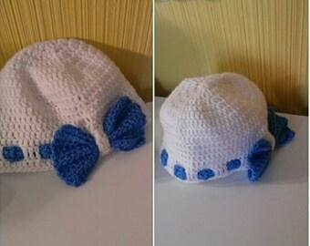 May's Crochet Sassy Bow Hat