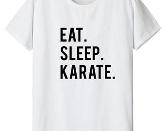 Karate, Karate t-shirt, Karate Gift, Eat Sleep Karate - 602