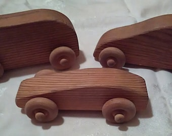Handcrafted wooden cars, wooden toys, wood car, play car, push toy, roll toy, toy car, Toddlers, Preschoolers, toy, Organic, Natural, childs