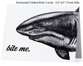 Shark Notecards