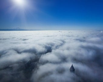 Above the Clouds photography print