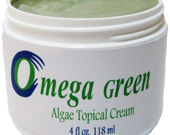 Omega Green Algae Topical Cream 4oz