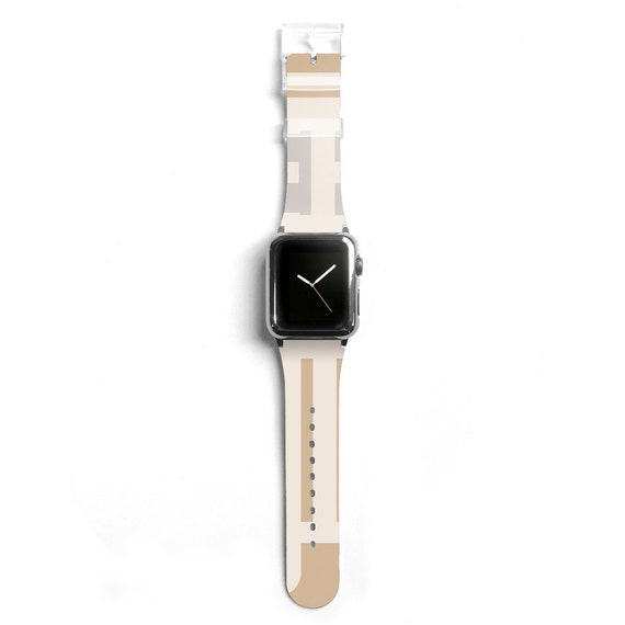 Minimal graphic Apple watch band women Apple watch by