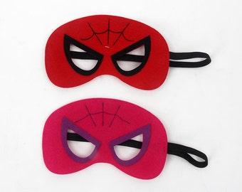 Spider mask, Spiderman Mask/Spidergirl Mask, Spider man Mask/Spider girl Mask, Spiderman Masks/Spidergirl Masks