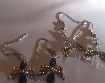 Clear Angle Earrings