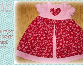 Pink Valentine's Day Dress