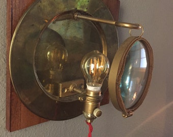 Handmade Industrial Sconces