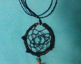 DreamCatcher with black coral