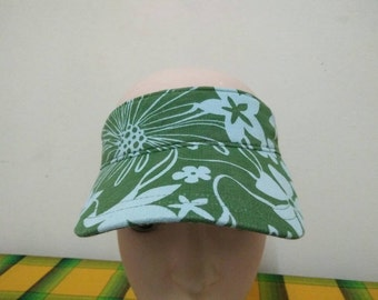 Rare Vintage GAP Floral Full Printed Sun Hat Free size fit all