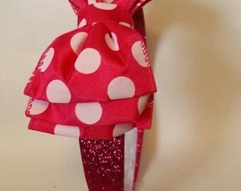 Polka Dot Girls Headband