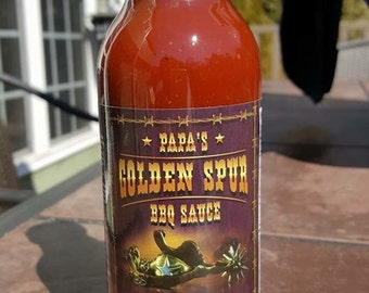 Papa's Golden Spur BBQ sauce