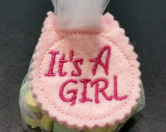 Baby Shower Favors - Gender Reveal Favors - It's a Boy Shower Favor - It's a Girl Shower Favor