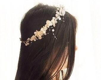 Weddings Accessories, Hair Accessories, flower crown, flower headband, flower headpiece, bridal flower crown, bridal headpiece,head wreath,