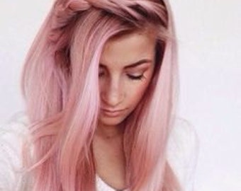 Baby Pink Hair Chalk - Salon Grade - Temporary - Non-Toxic