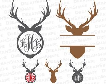 Deer Cake Topper Cut File