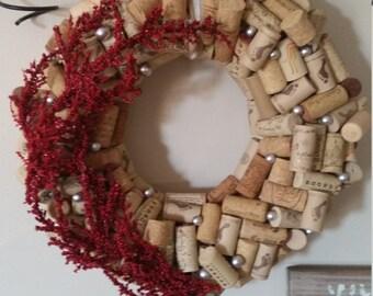 Large Cork Wreath