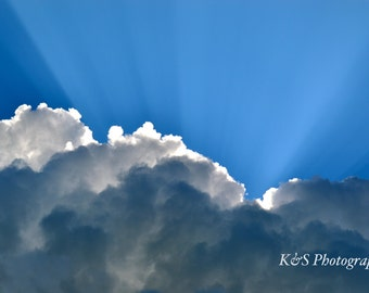 Clouds, Sun, Nature Photography