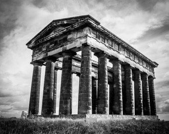 Penshaw Monument in Sunderland Photographic print