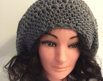"""New """"Homemade"""" crochet hat. One size fit most."""