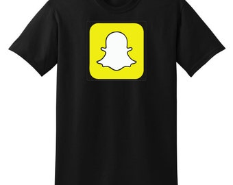 Customized Snapchat Snapcode Tee/READ THE DESCRIPTION