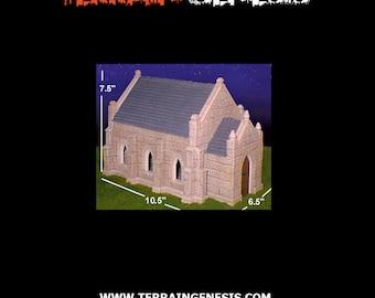 Hirst Arts Gothic Church Kit