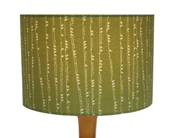 Birds On A Wire Green 30cm Lampshade