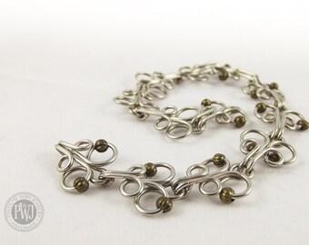 Butterfly Wire Bracelet