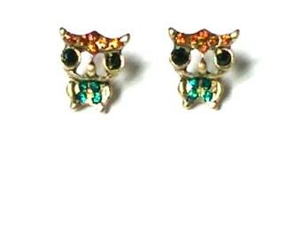 Sweet Owl Earrings