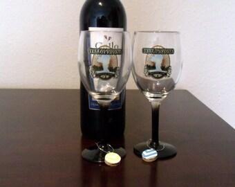 Cork Wine Charms Set of 4
