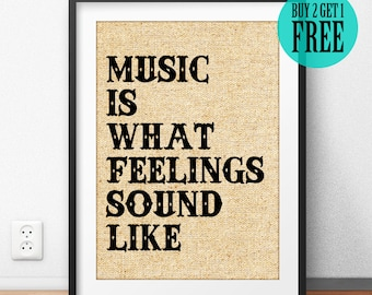 Rock n Roll Poster, Music Wall Art, Music Quote Print, Wall Saying, Home Decor, Wall Art Print, Studio Decor, Music Gift, Gift for Man, SD11