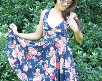592e8f3224586 PDF Sewing Pattern Dress Top Surplice Front Dress Cross Back Top Maternity  Nursing Maxi Dress .