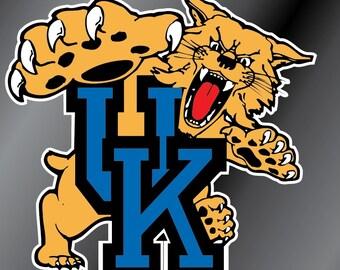 Kentucky Wildcats Vinyl Decal Sticker