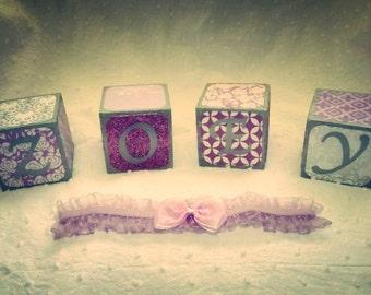 Custom Name Blocks, Wood Blocks, Baby Shower Gift, Birthday Gift, Newborn Photo Prop, Nursery Decor, Room Decor, Handmade to order
