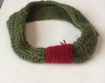 Cute green headband