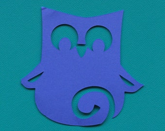 10 PAPER OWLS/ Any Color