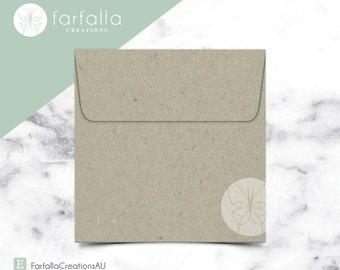 Botany Square Envelopes 150x150mm // Pack 10