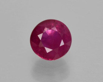 AAA Round Shape Genuine Faceted Ruby ( 2mm-5mm) . 811-211