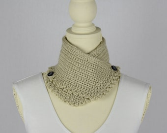 Crochet Champagne Neck Warmer