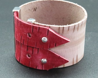 Cuff leather Ouessant