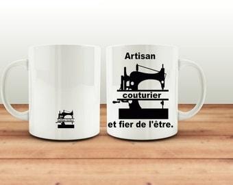 Mug, cup coffee or tea, proud to be a fashion designer