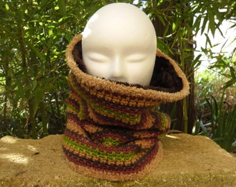 SNOOD or neck crochet