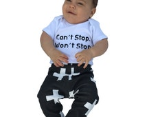 100% Organic Cotton Knit Cross Pants