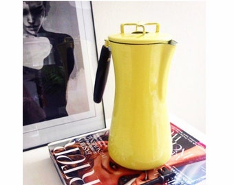 Milanoware by Lantoni Carafe/Coffee Pourer - Highlighter Yellow